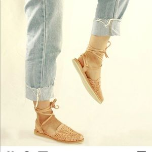 Espadrilles Huaraches leather sandals Hand made